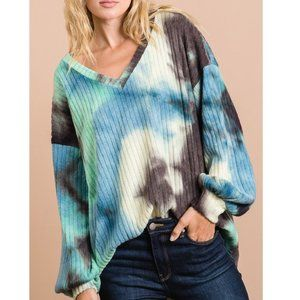 Amazingly Soft On Trend Tie Dye Ribbed